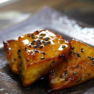 揚げない大学芋の作り方とレシピ