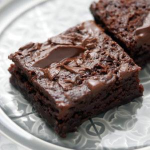 レンジで3分!超簡単!チョコブラウニー~ホットケーキミックスで材料少なめ
